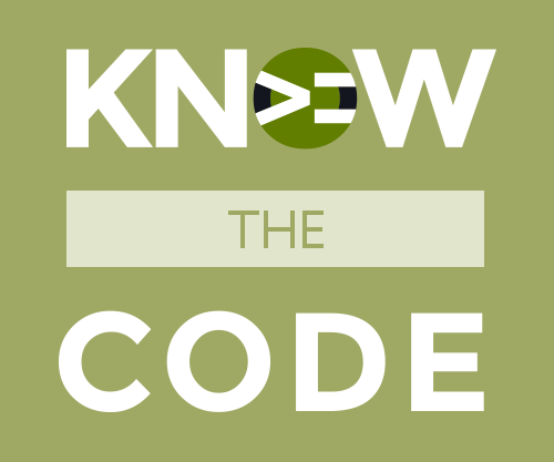 Know the Code by Tonya Mork