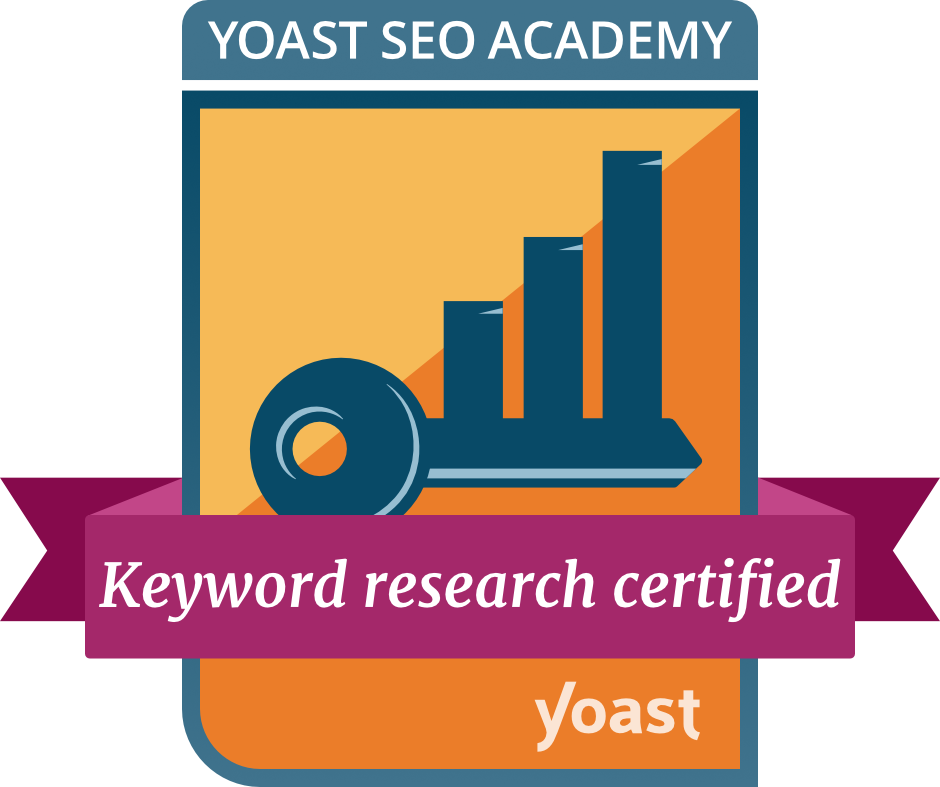 Keyword Research Badge by Yoast Academy