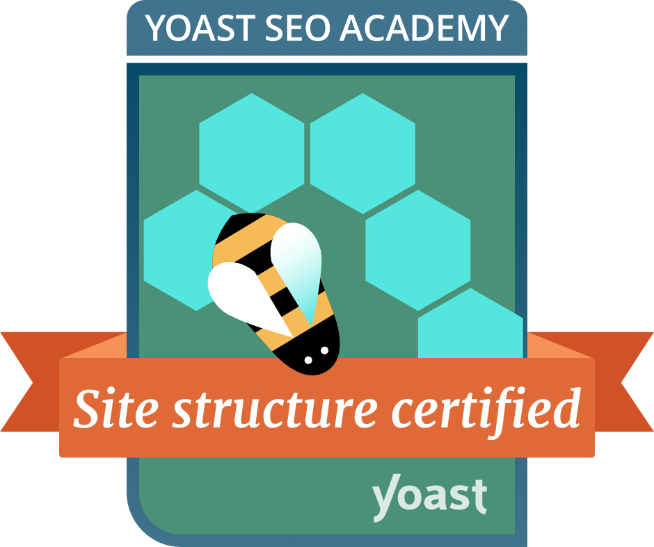 Site Structure Certified by Yoast Academy