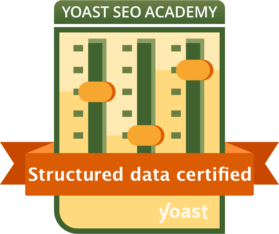 Structured Data Certified by Yoast Academy